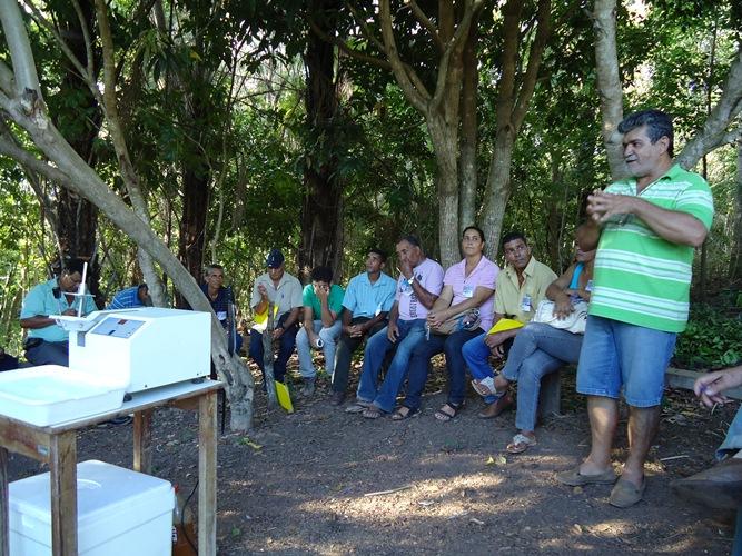 Agricultores trocaram conhecimentos sobre agroecologia e outras experiências de convivência com o Semiárido