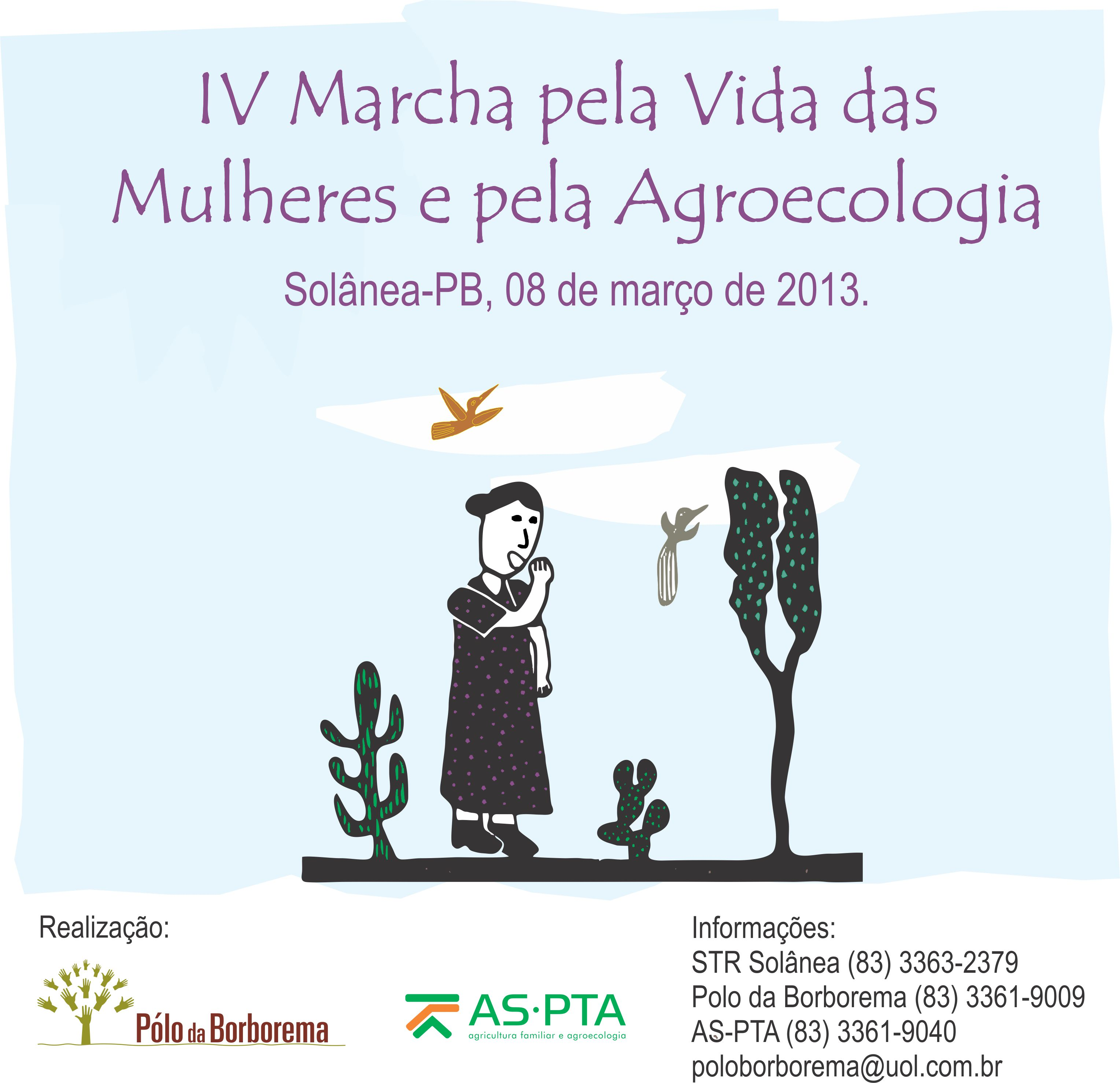 iv marcha mulheres