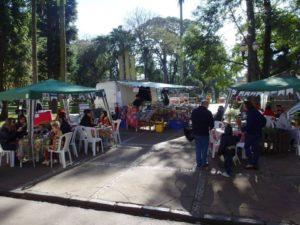 Feira Agroecológica realizada pela AOPA. Foto: Arquivo Marfil Agroecológicos.